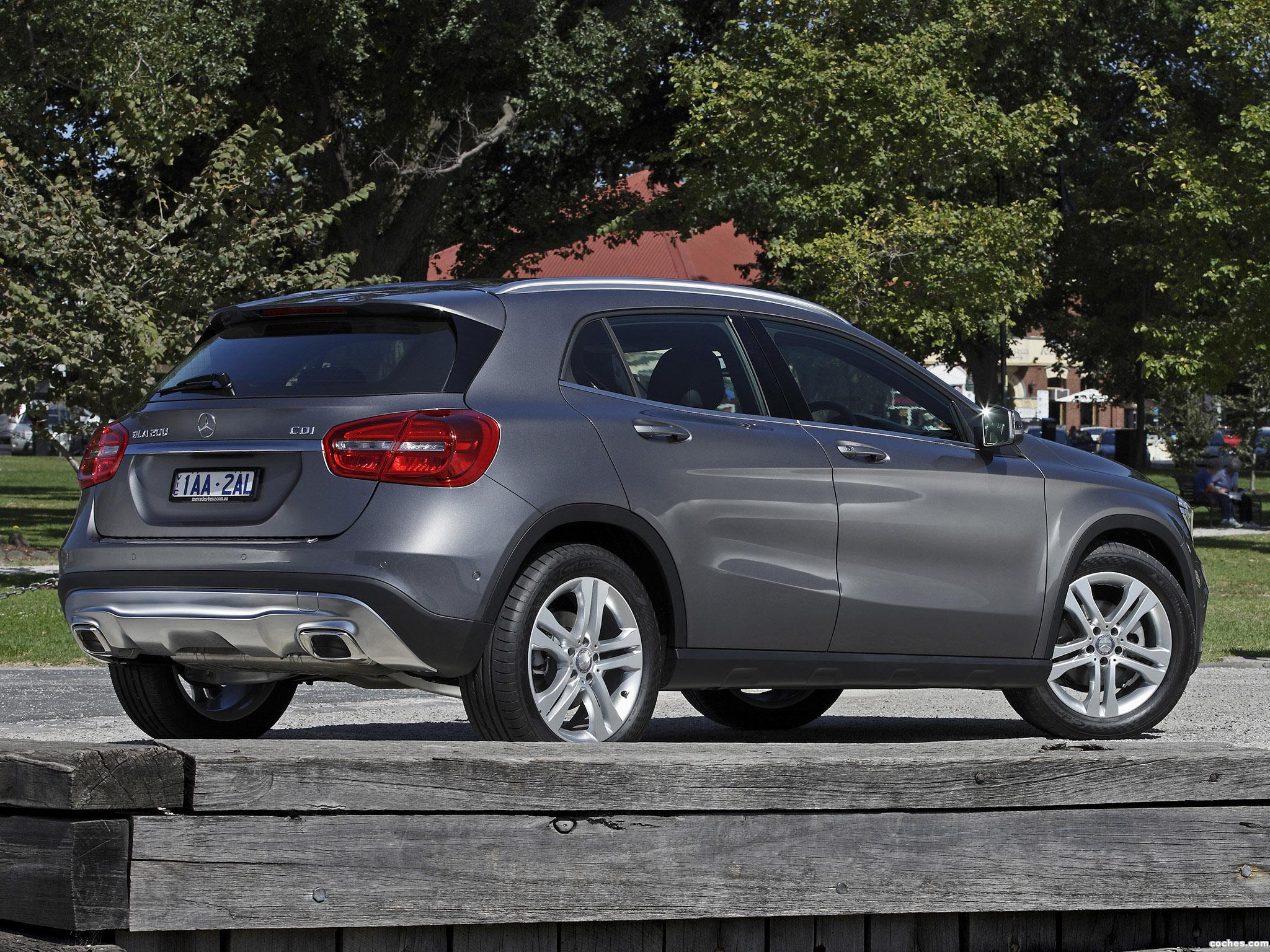 fotos de mercedes clase gla 200 cdi x156 australia 2014 foto 7. Black Bedroom Furniture Sets. Home Design Ideas