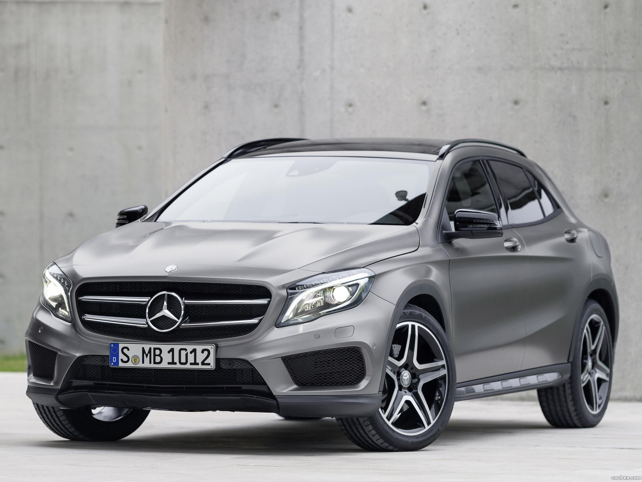 Foto 0 de Mercedes Clase GLA 250 4MATIC AMG Sport Package X156 2014