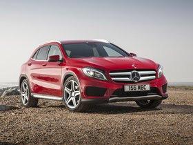 Ver foto 3 de Mercedes Clase GLA 250 4MATIC AMG Sport Package X156 UK 2014