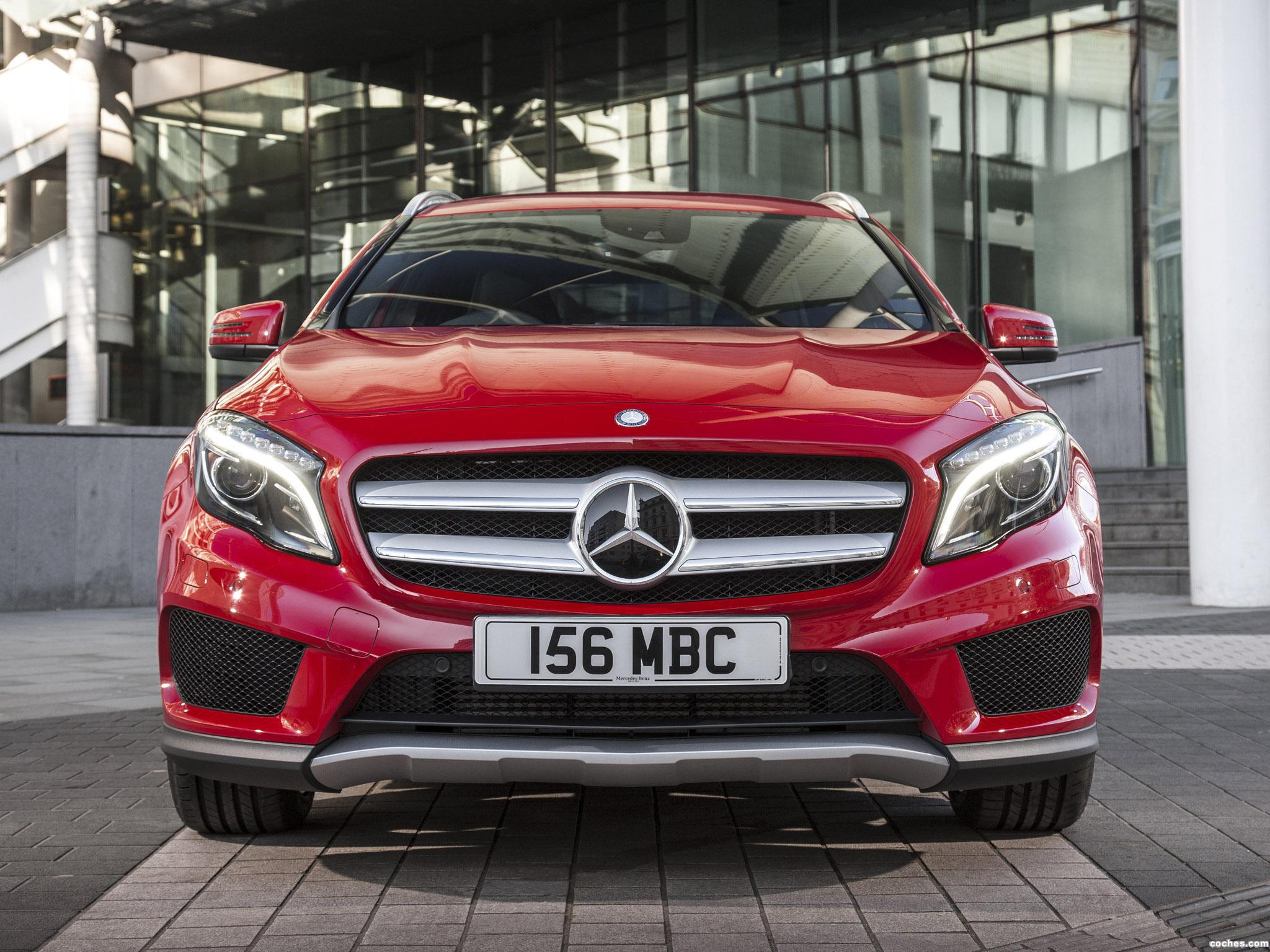 Foto 0 de Mercedes Clase GLA 250 4MATIC AMG Sport Package X156 UK 2014