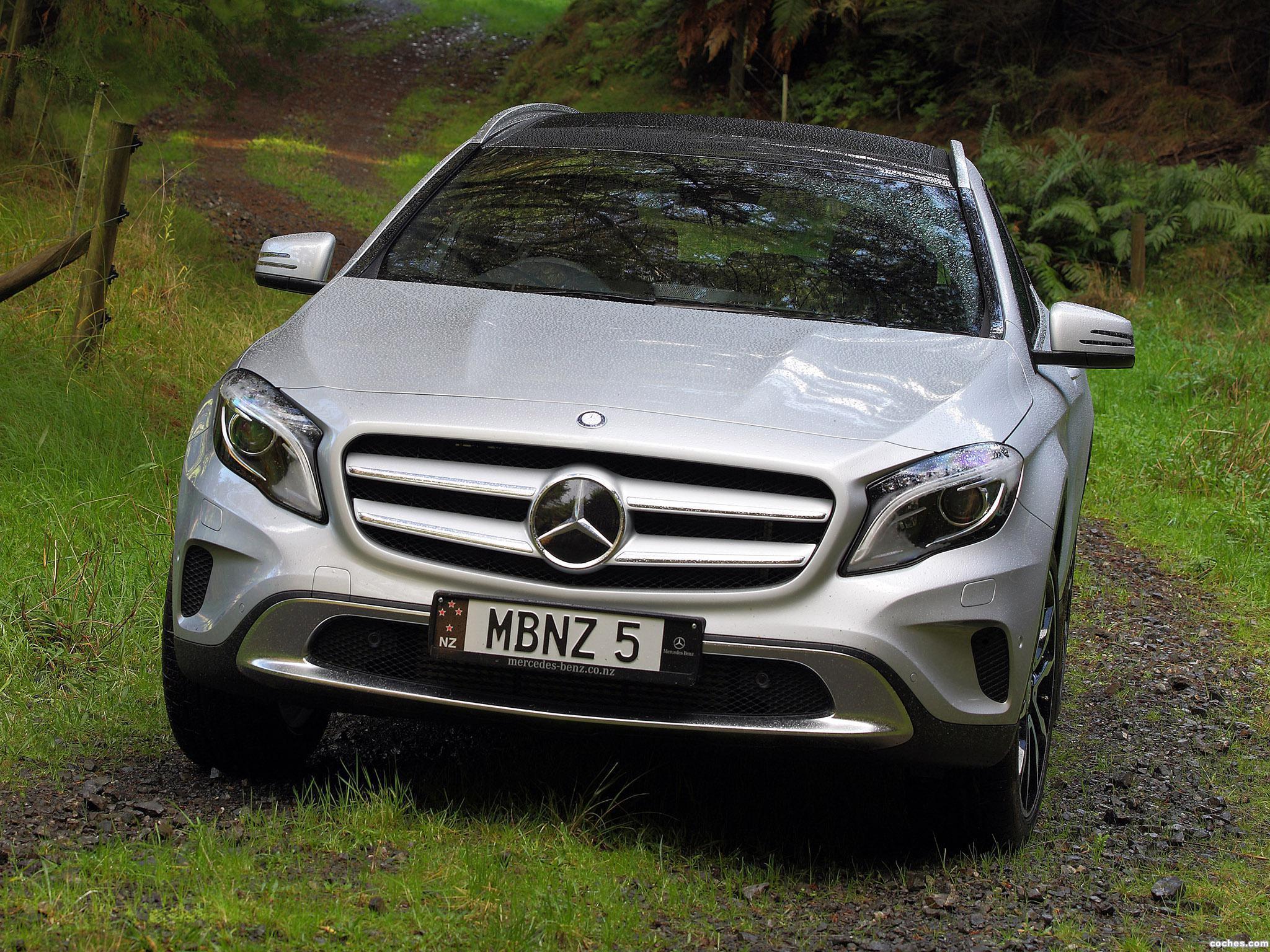 Foto 0 de Mercedes Clase GLA 250 4MATIC X156 Australia 2014