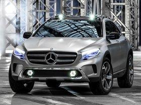 Ver foto 2 de Mercedes Clase GLA Concept 2013