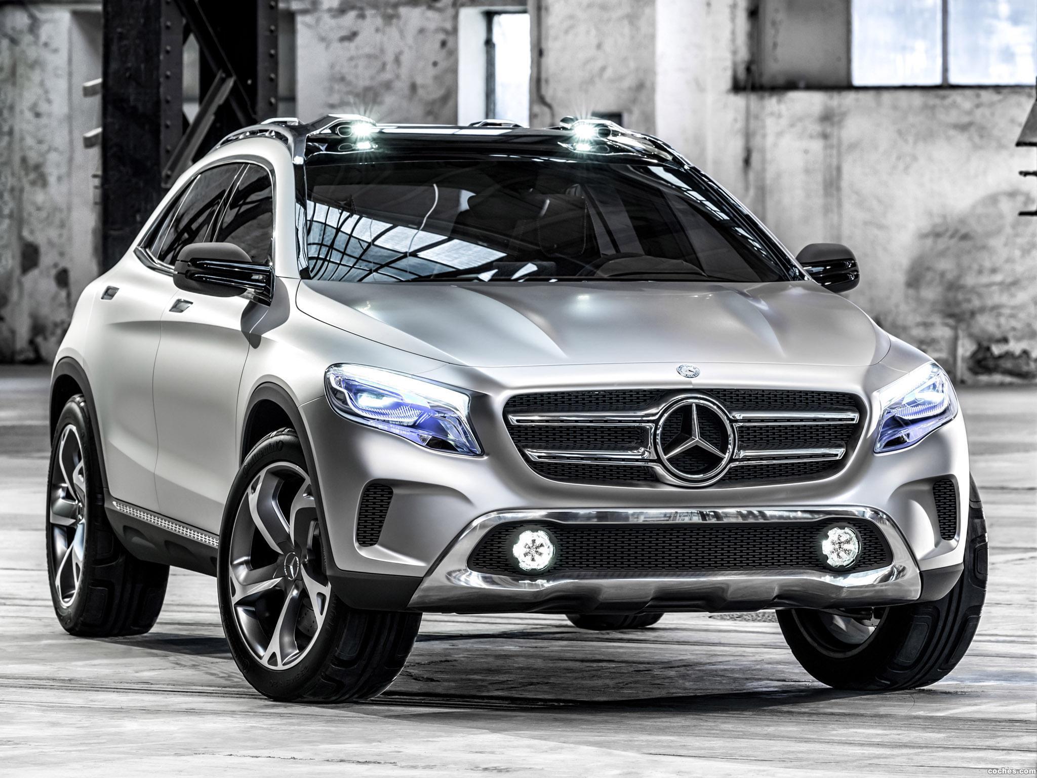 Foto 0 de Mercedes Clase GLA Concept 2013