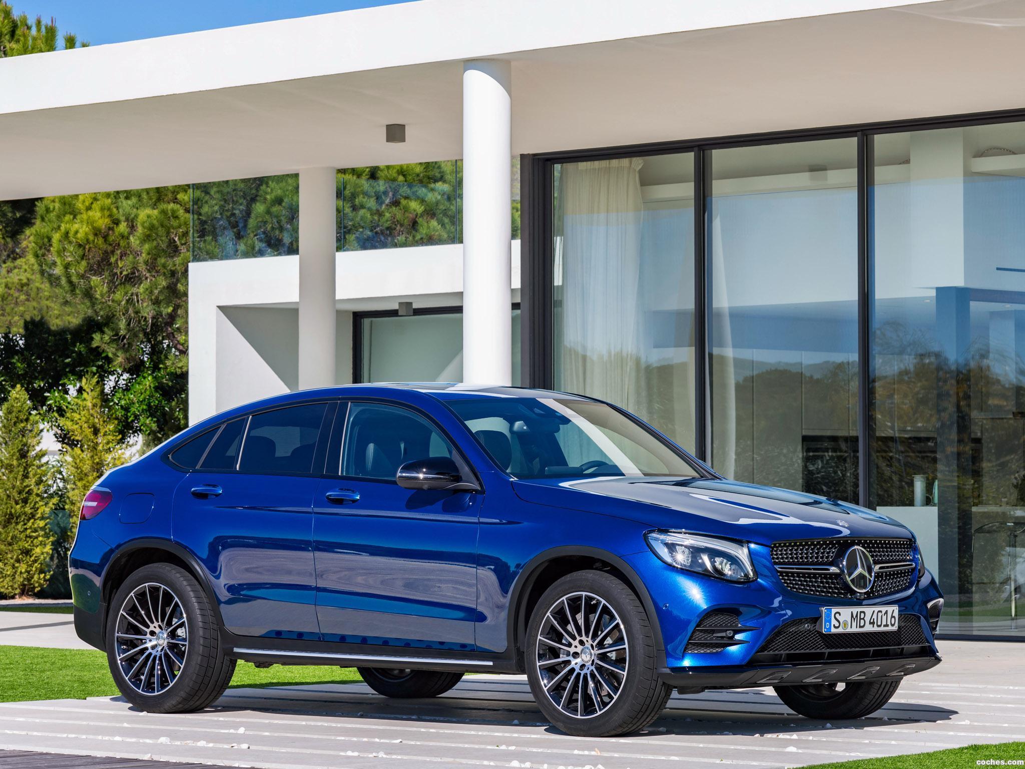 Foto 9 de Mercedes GLC Coupe AMG Line C253 2016
