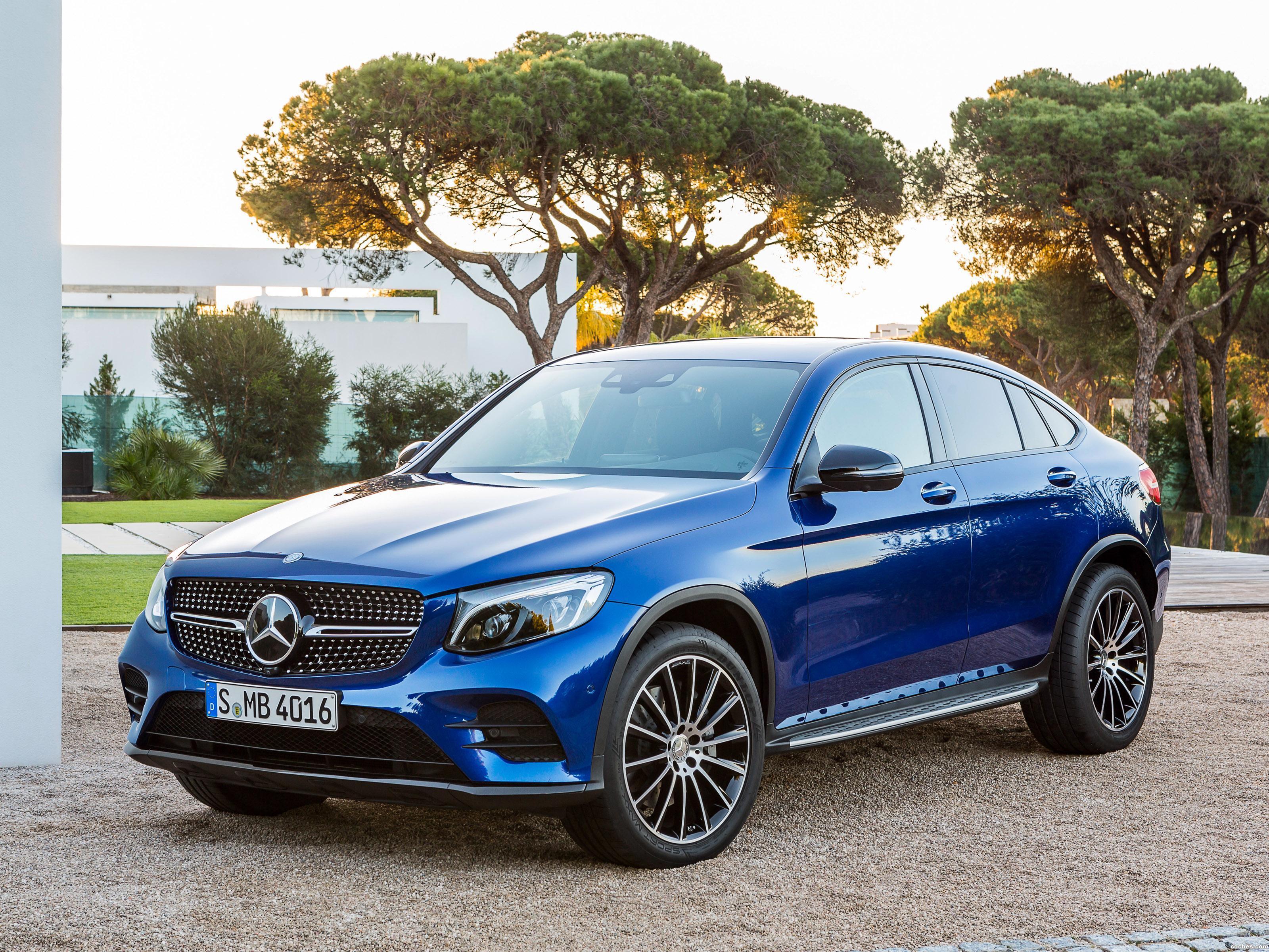 Foto 0 de Mercedes GLC Coupe AMG Line C253 2016