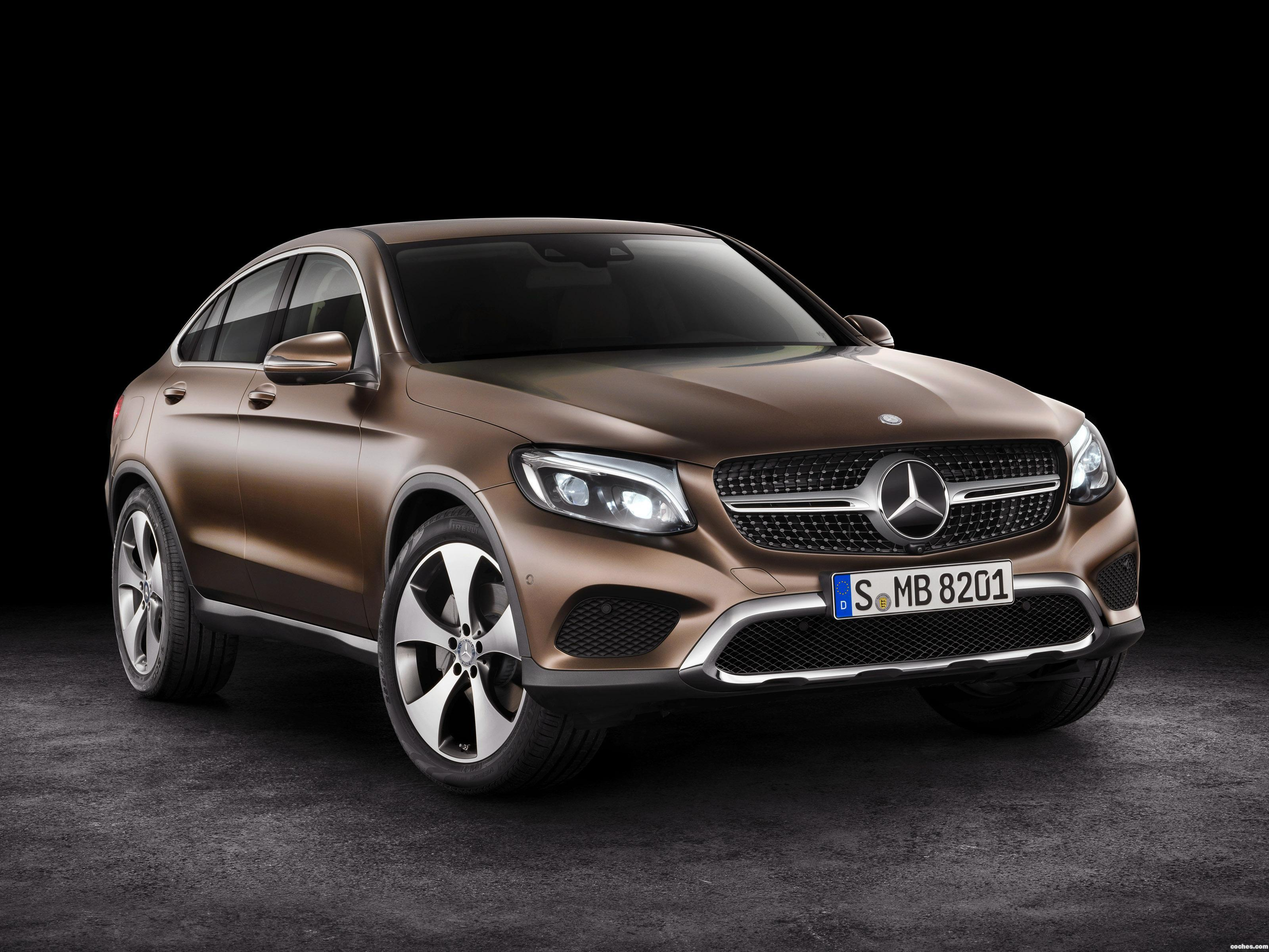 Foto 0 de Mercedes GLC Coupe C253 2016