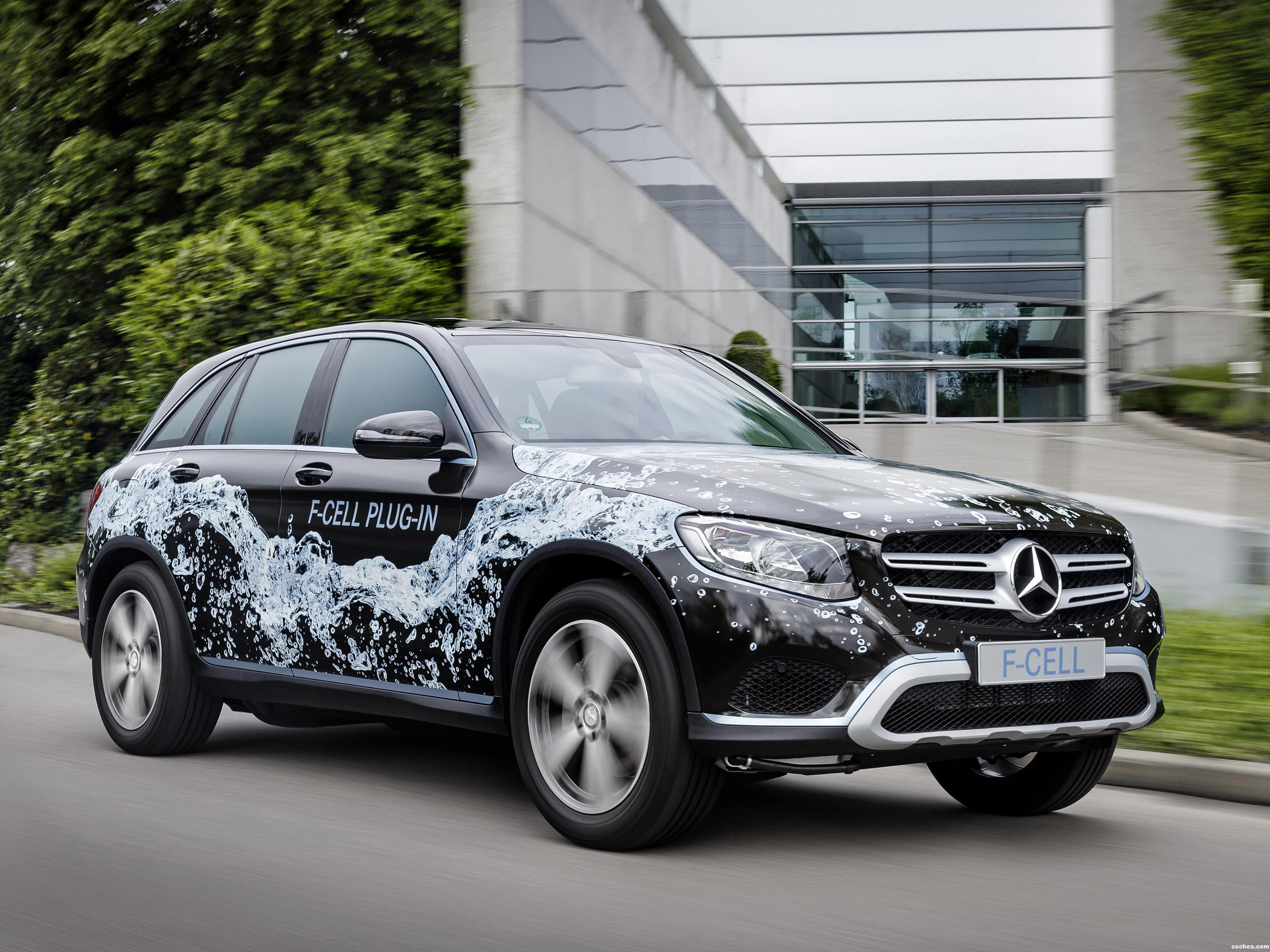 Foto 0 de Mercedes GLC F-Cell Plug-in Prototype X253 2016