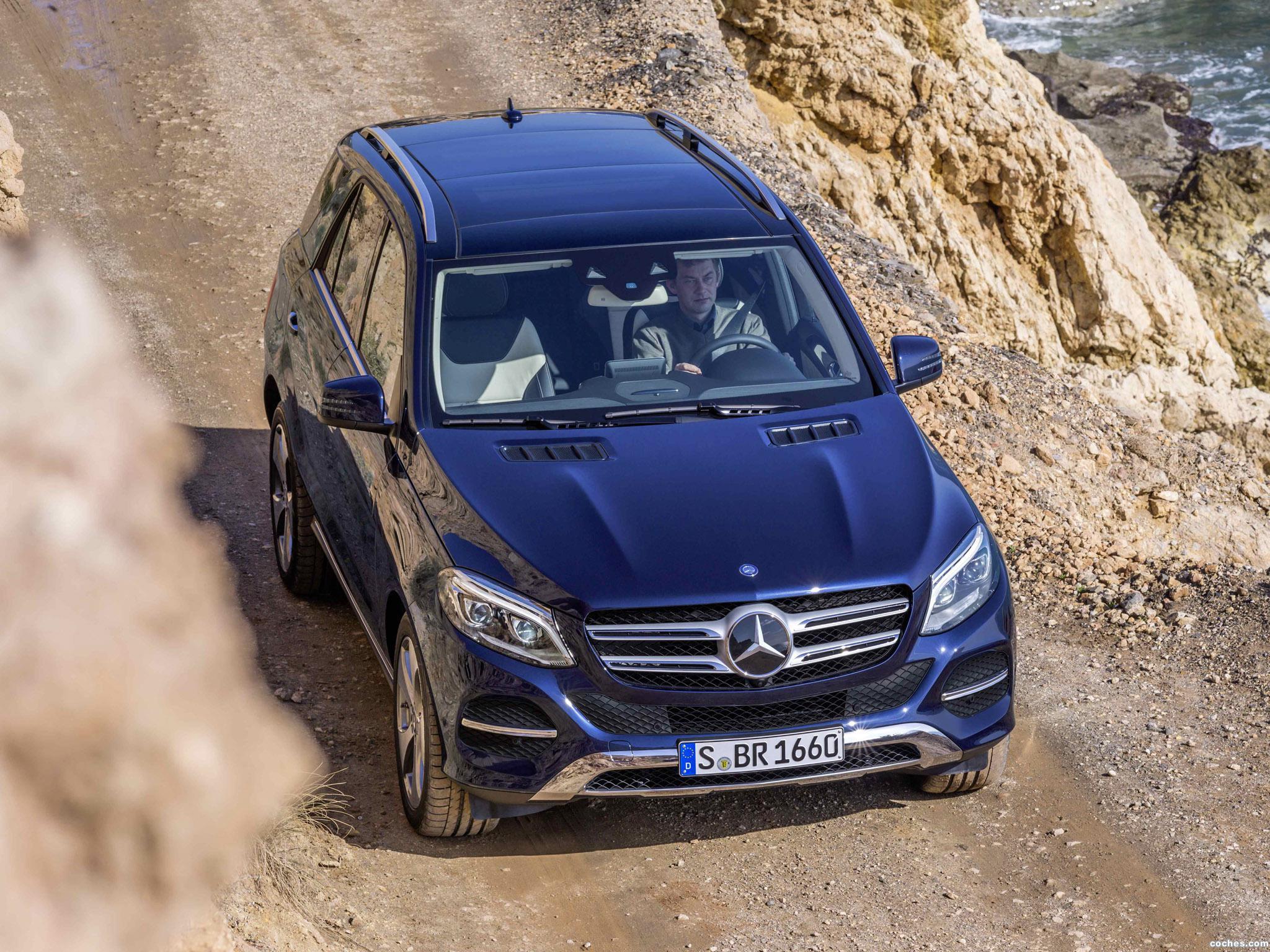 Foto 2 de Mercedes GLE 250 D 4MATIC W166 2015