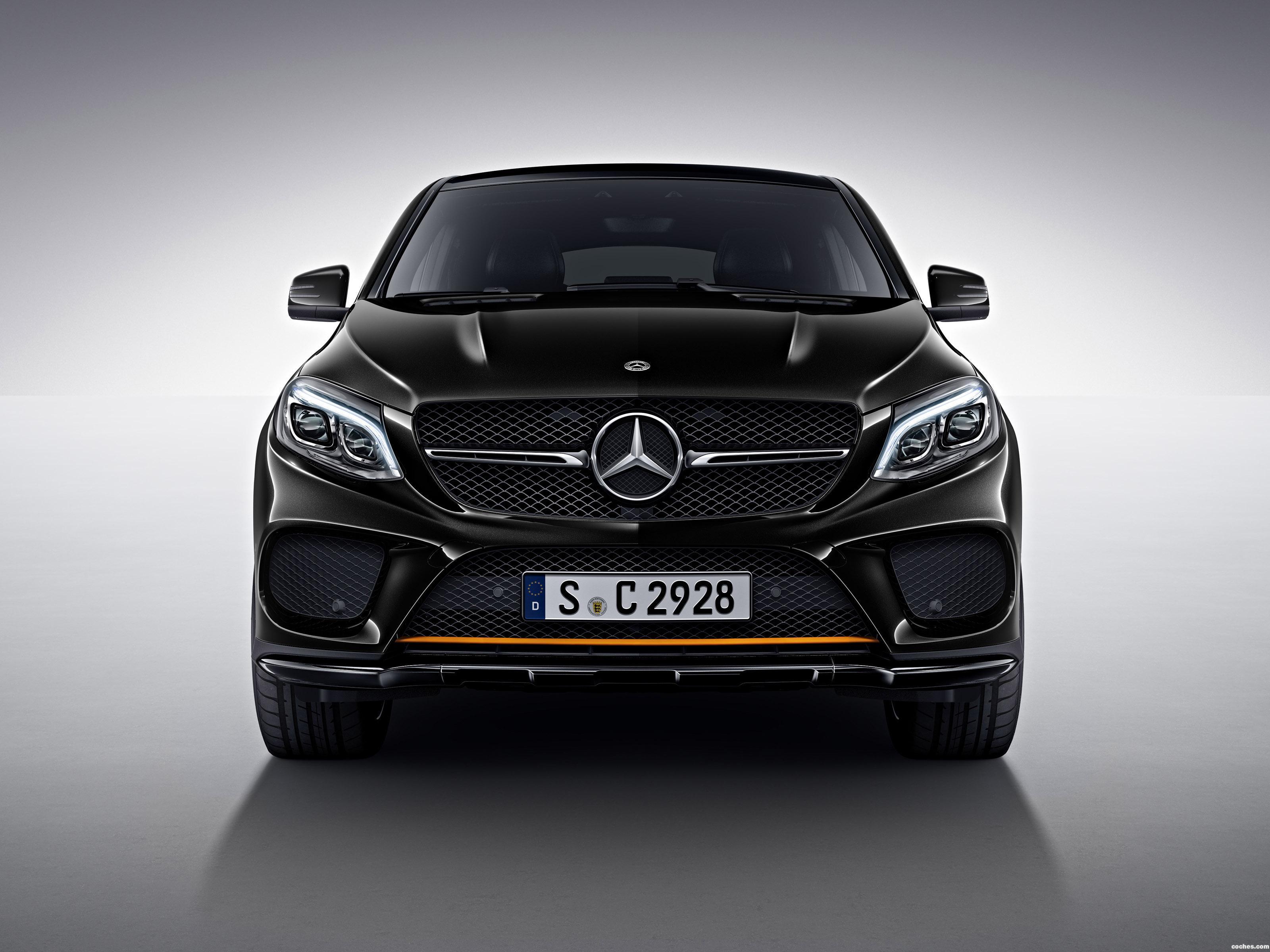 Foto 0 de Mercedes GLE Coupe Orangeart C292  2017