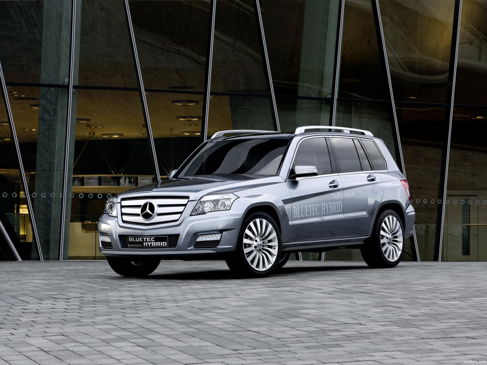 Foto 0 de Mercedes Clase GLK Bluetec Hybrid Concept 2008