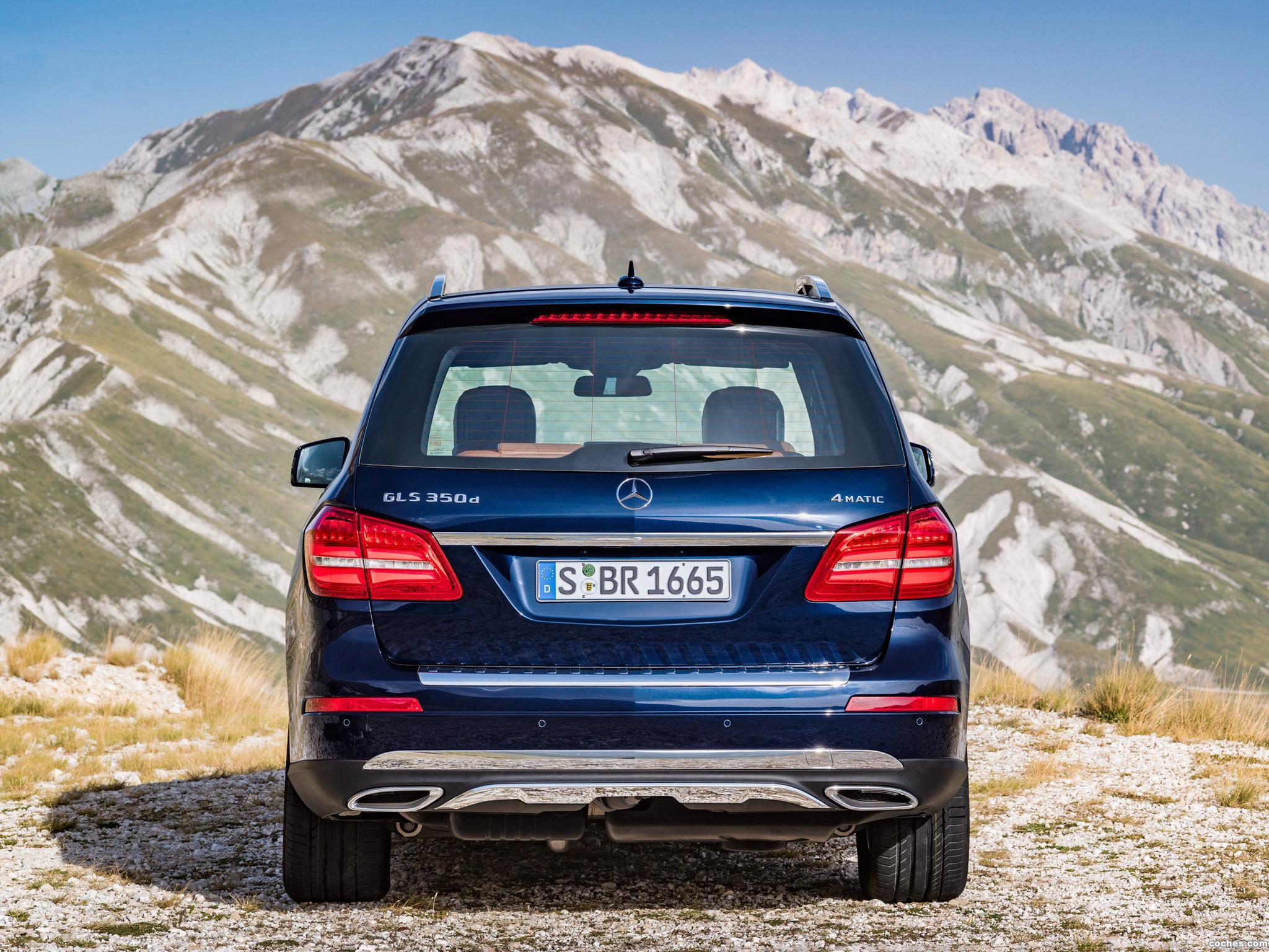 Foto 5 de Mercedes GLS 350 D 4MATIC X166 2015