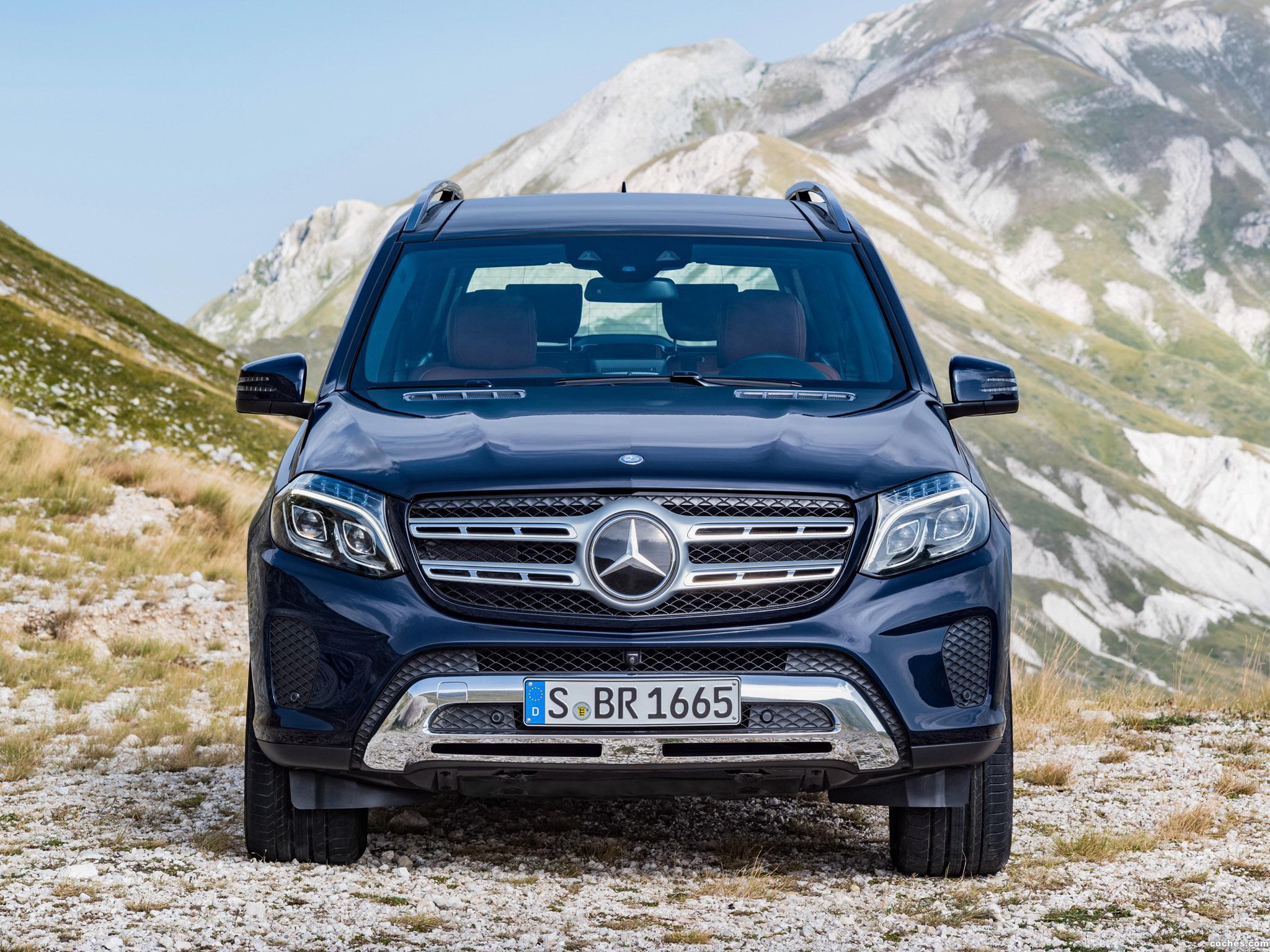 Foto 10 de Mercedes GLS 350 D 4MATIC X166 2015