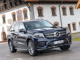 Ver foto 12 de Mercedes Clase GLS 400 4MATIC AMG Line X166 2015