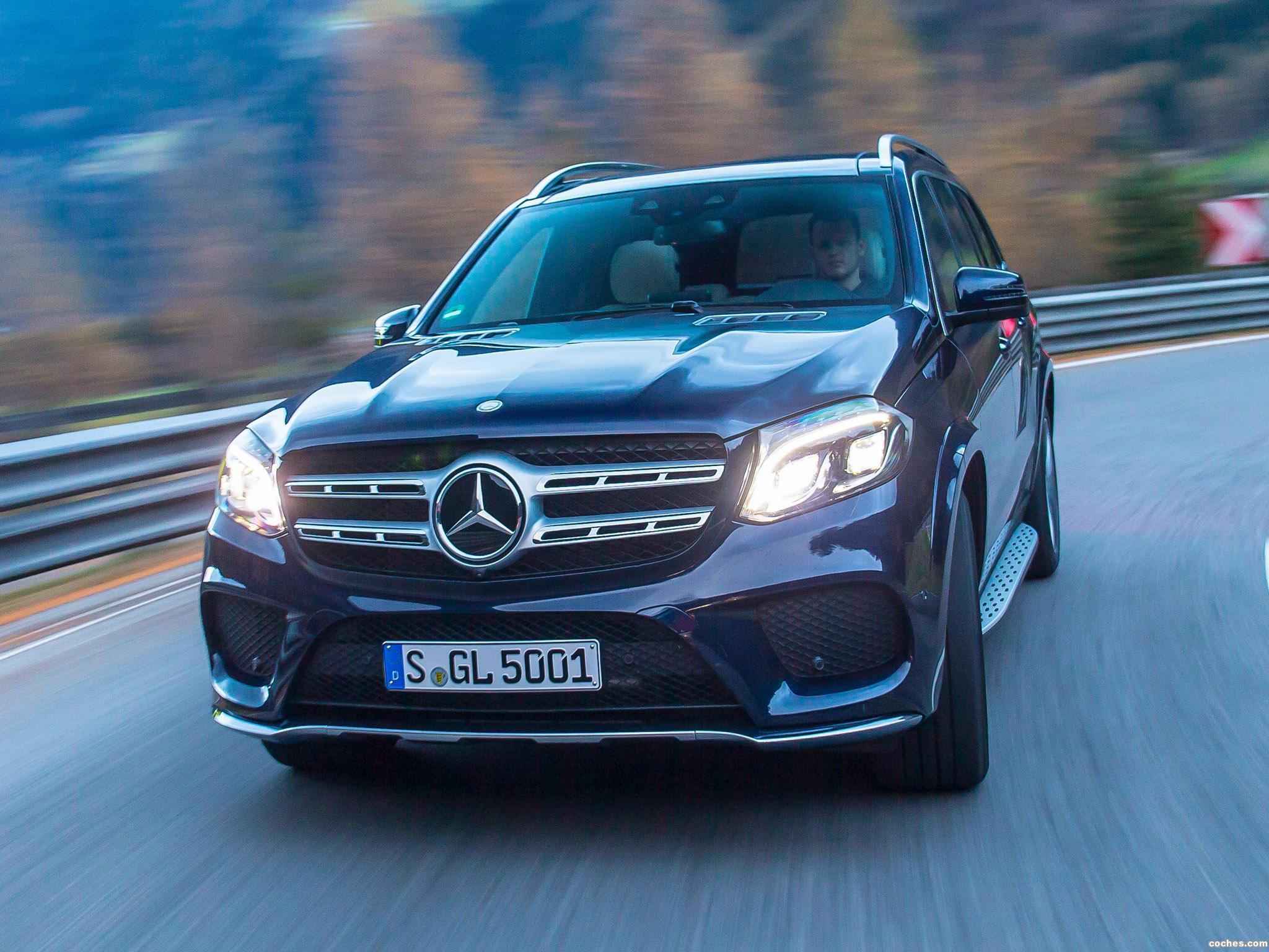 Foto 7 de Mercedes Clase GLS 400 4MATIC AMG Line X166 2015