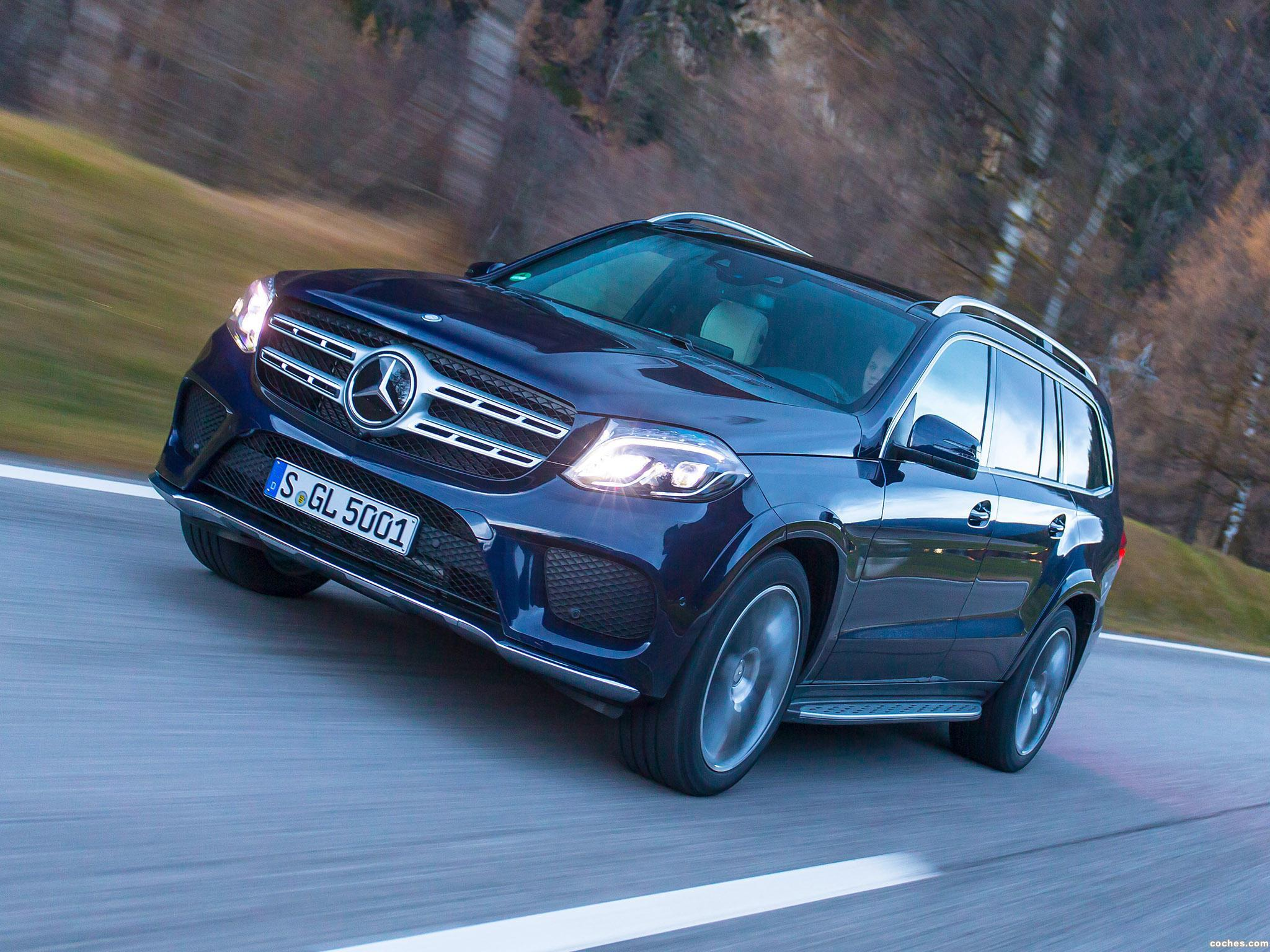 Foto 5 de Mercedes Clase GLS 400 4MATIC AMG Line X166 2015