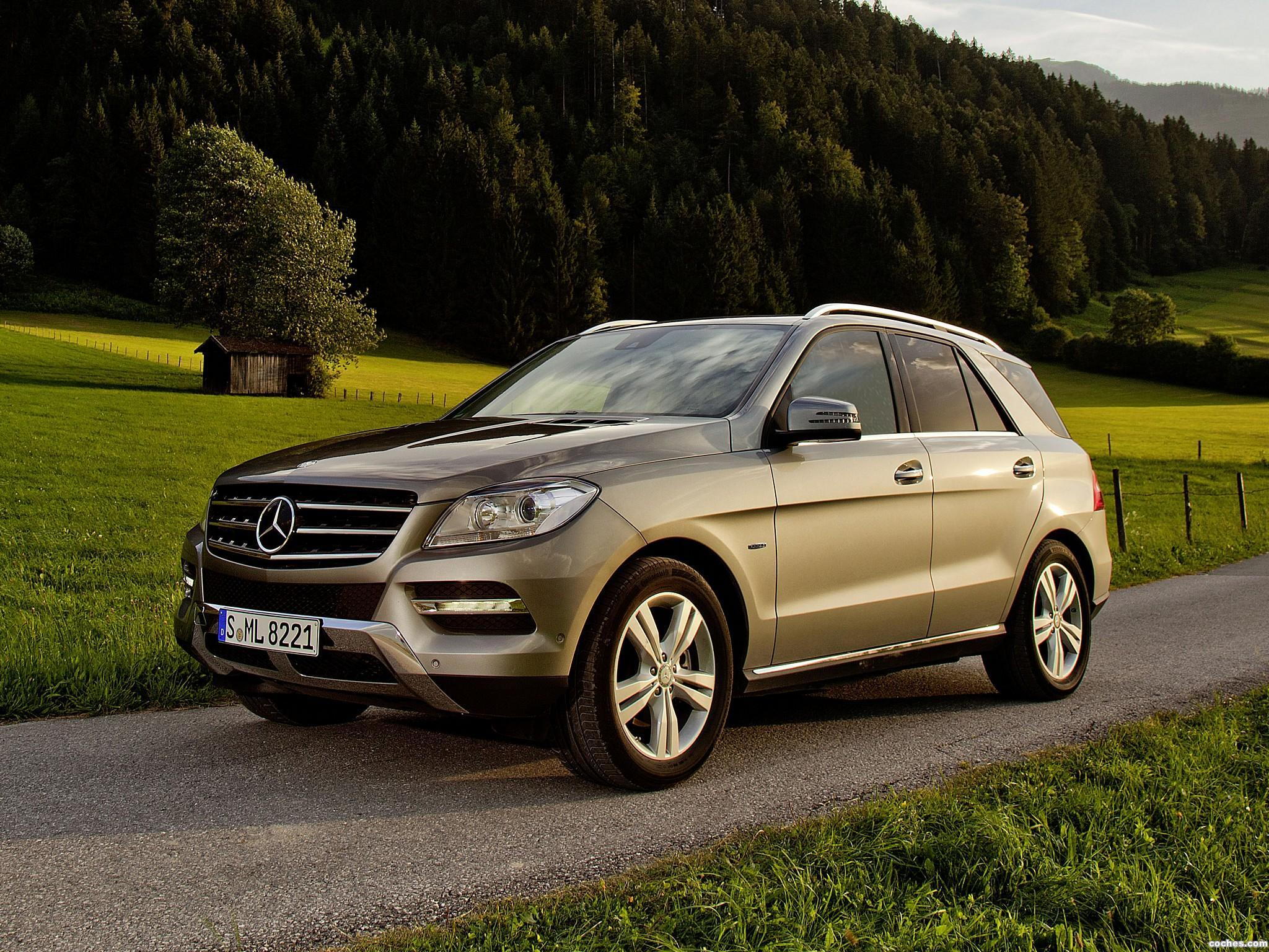 Foto 0 de Mercedes Clase M ML 500 BlueEfficiency W166 2012