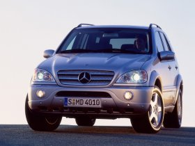 Fotos de Mercedes Clase M ML Facelift 2002