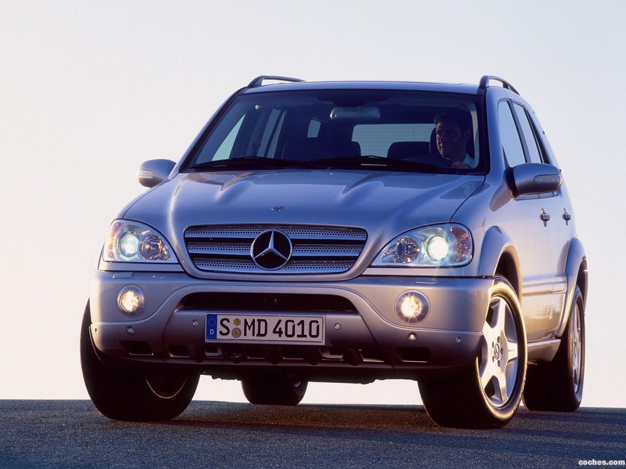 Foto 0 de Mercedes Clase M ML Facelift 2002