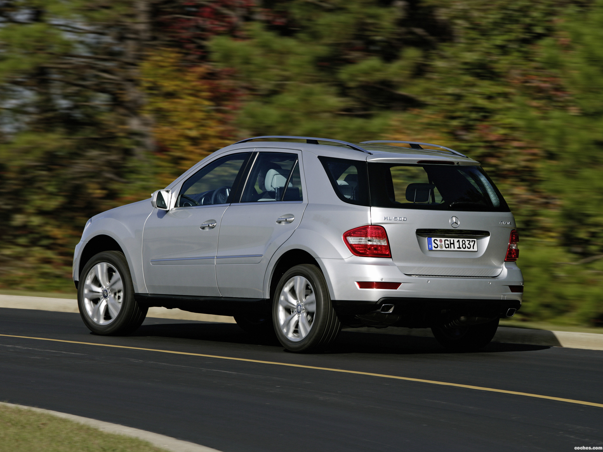 Foto 2 de Mercedes Clase M ML Facelift 2008
