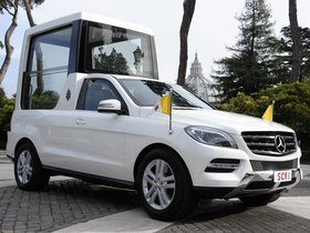 Fotos de Mercedes Clase M ML Popemobile 2012