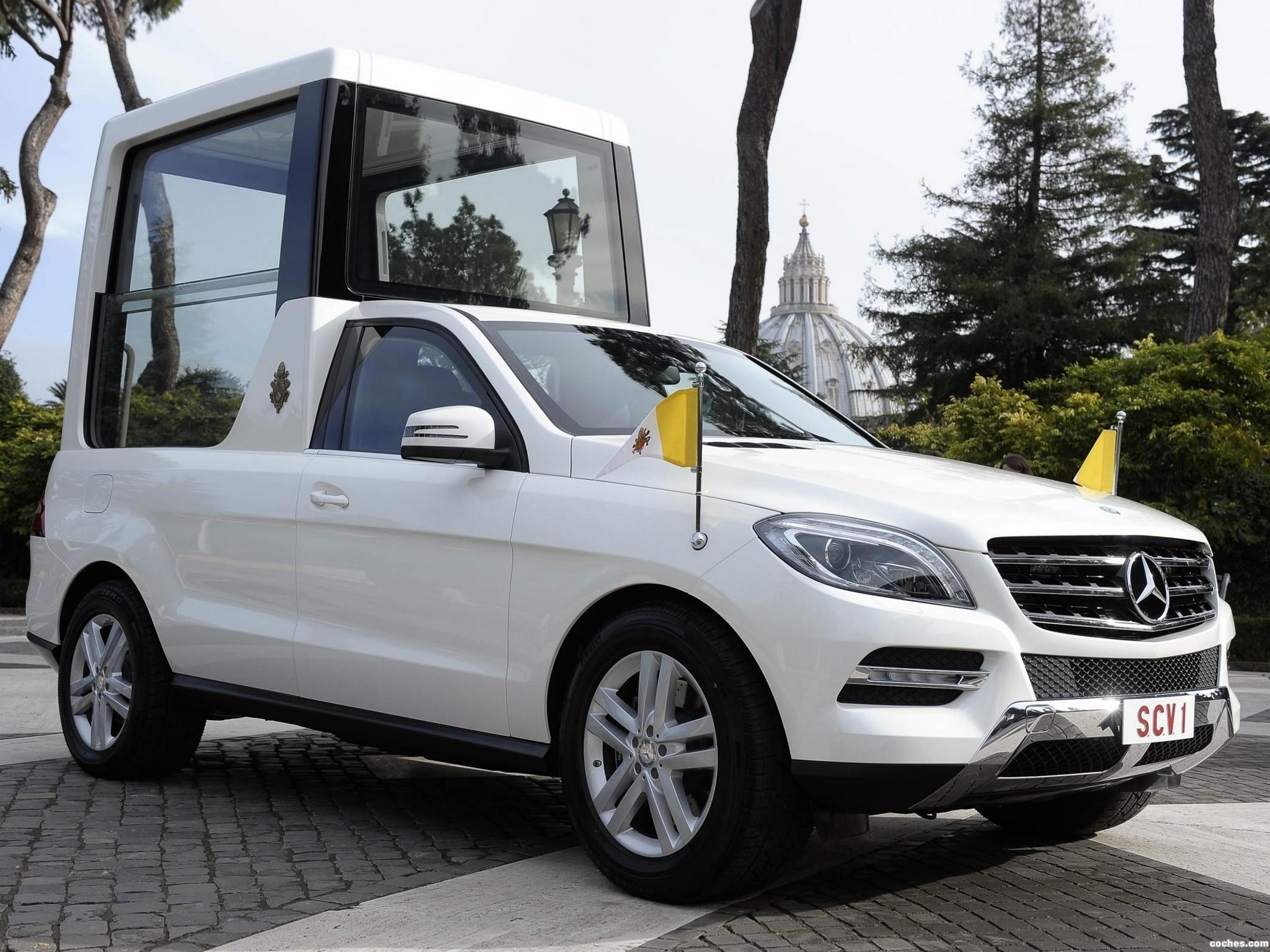 Foto 0 de Mercedes Clase M ML Popemobile 2012