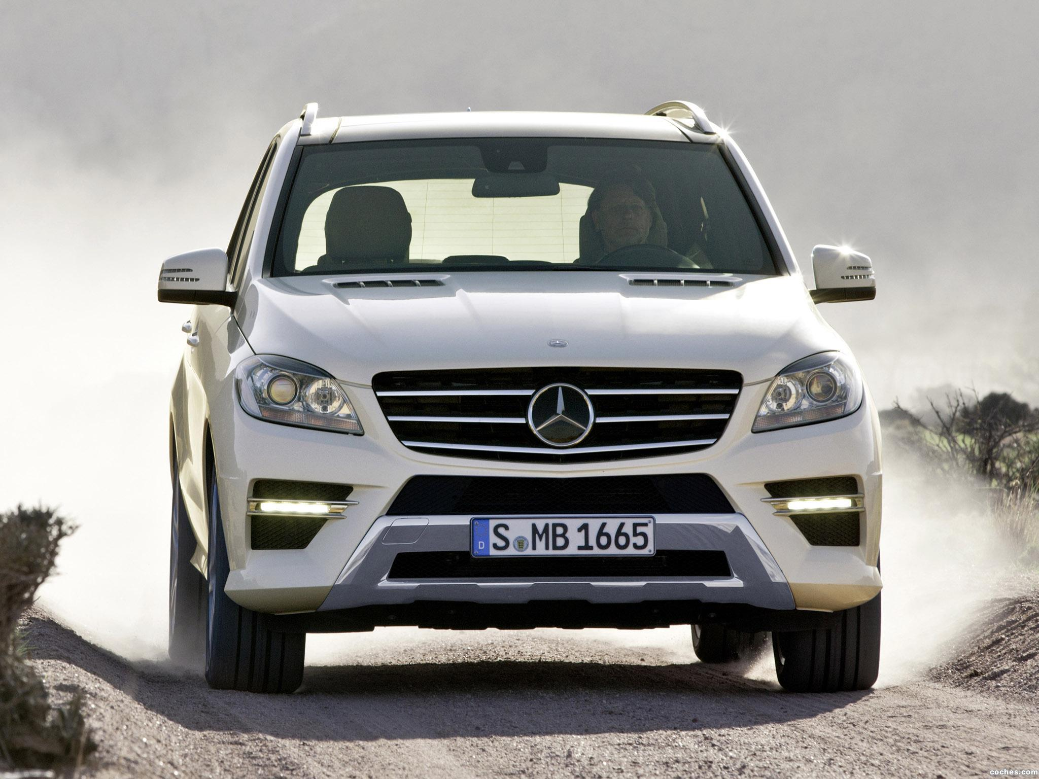 Foto 7 de Mercedes Clase M ML250 BlueTec 2011