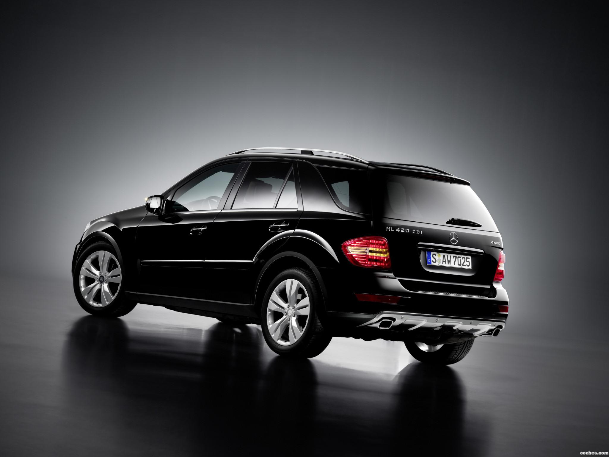 Foto 1 de Mercedes Clase M ML420 CDI Facelift 2008