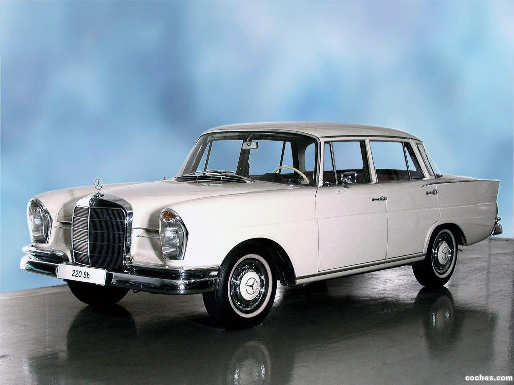 Foto 0 de Mercedes S-Klasse 220SB W111 W112 1959