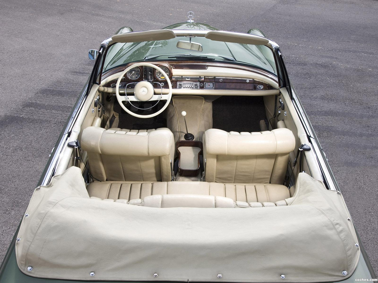 Foto 5 de Mercedes Clase S 220SE Cabriolet W111 W112 1963