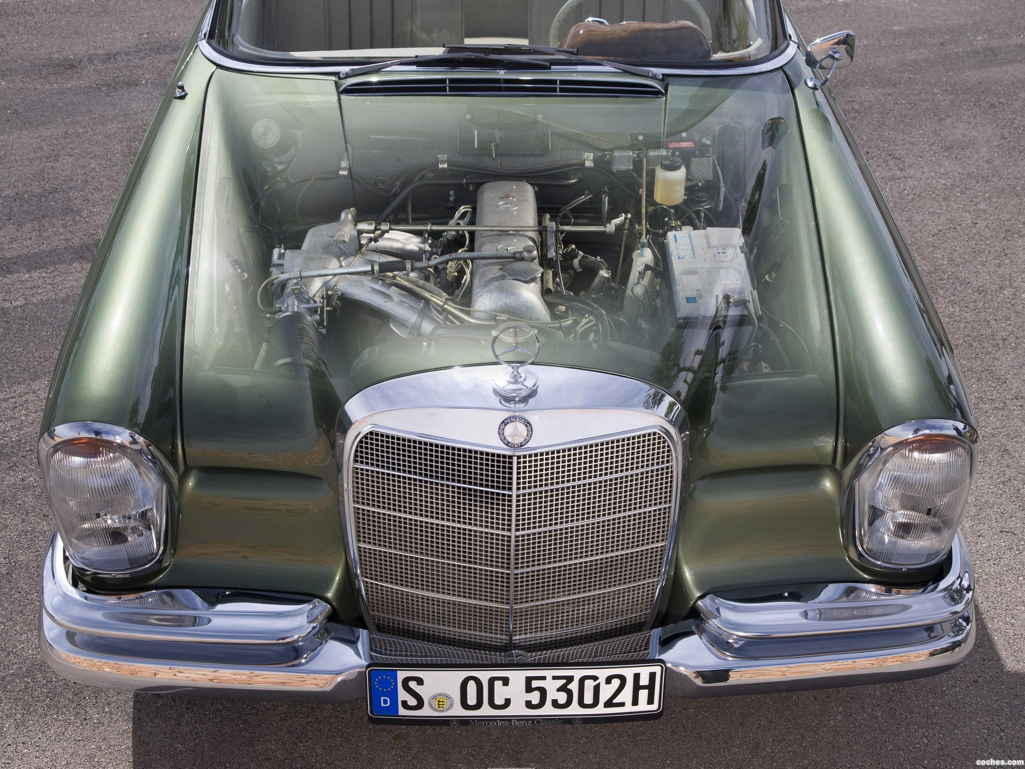 Foto 4 de Mercedes Clase S 220SE Cabriolet W111 W112 1963