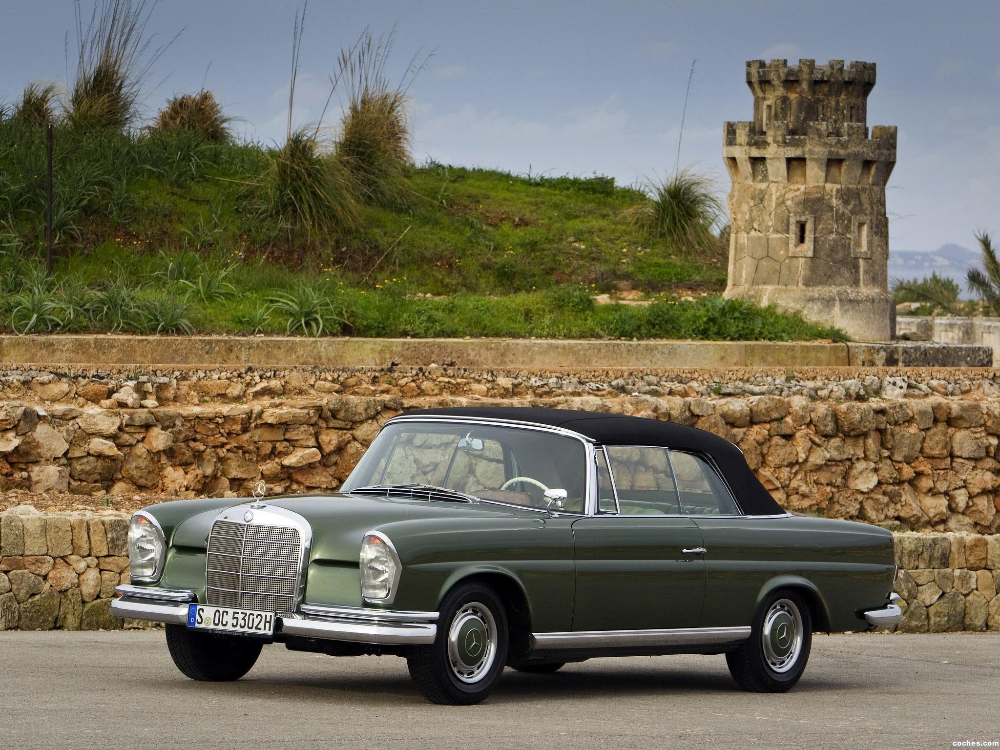 Foto 3 de Mercedes Clase S 220SE Cabriolet W111 W112 1963