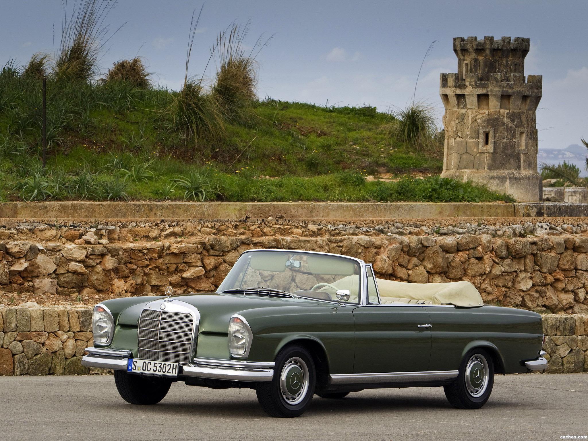 Foto 0 de Mercedes Clase S 220SE Cabriolet W111 W112 1963