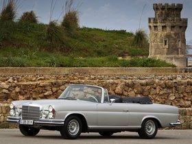 Fotos de Mercedes Clase S 280SE Cabriolet W111 W112 1968