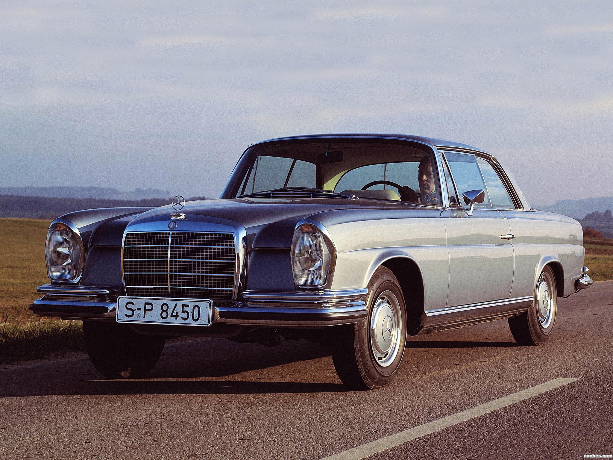 Foto 0 de Mercedes Clase S 280SE Coupe W111 W112 1968