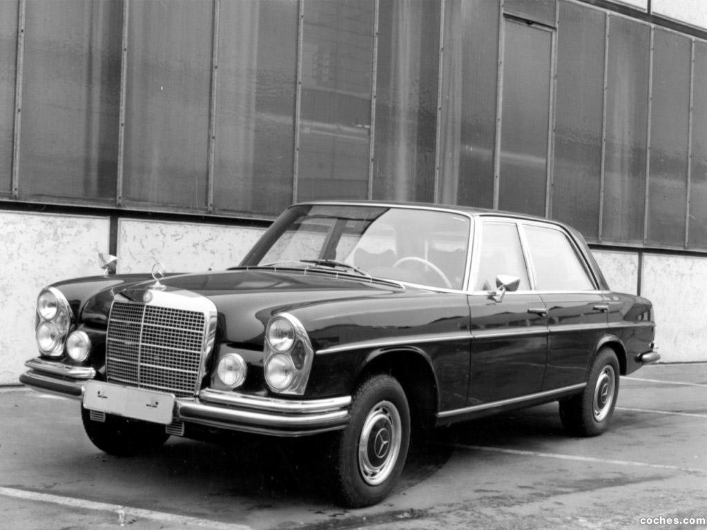 Foto 0 de Mercedes Clase S 280SEL 3.5 Guard W108 1971