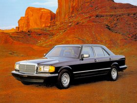 Fotos de Mercedes S-Klasse 300SD Turbodiesel Sedan W126 1981