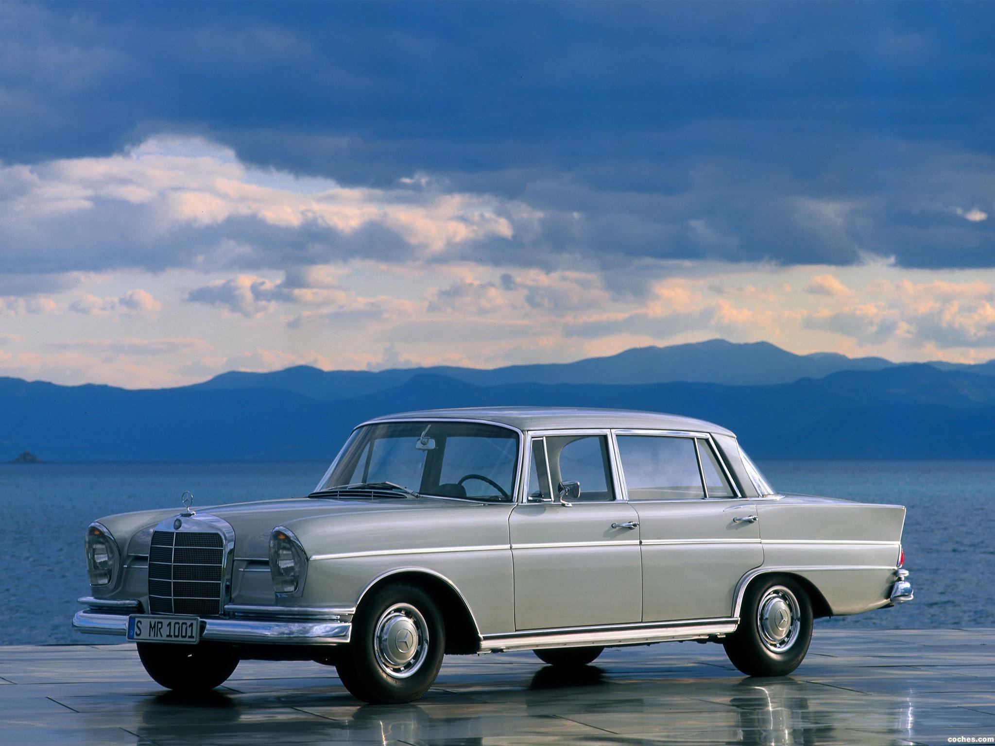 Foto 0 de Mercedes S-Klasse 300SE W112 1961