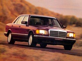 Fotos de Mercedes Clase S 420SEL Sedan W126 USA 1985