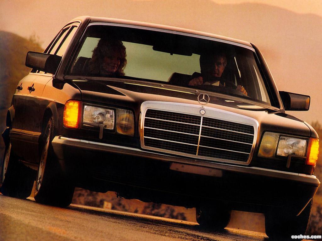 Foto 1 de Mercedes Clase S 420SEL Sedan W126 USA 1985