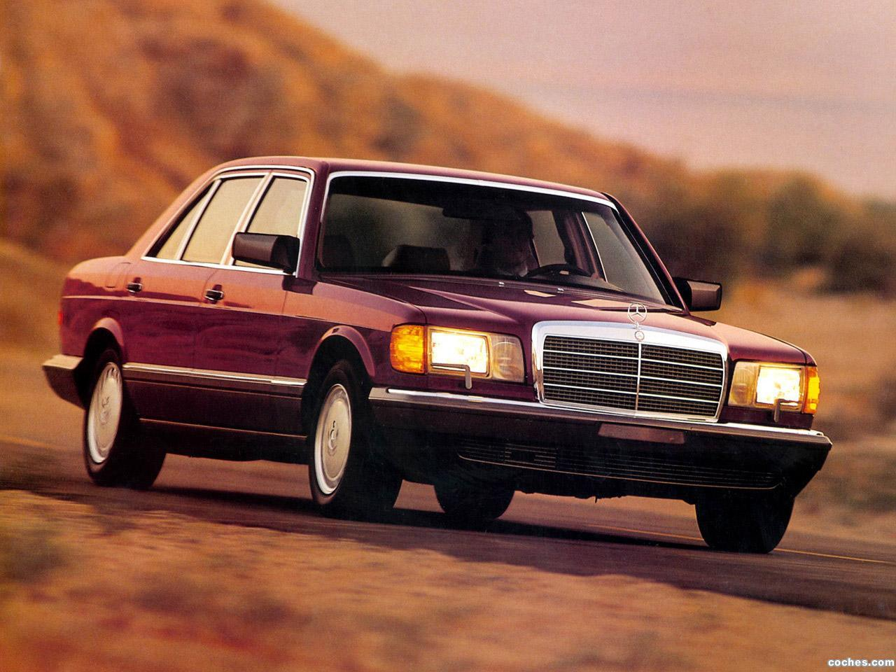 Foto 0 de Mercedes Clase S 420SEL Sedan W126 USA 1985