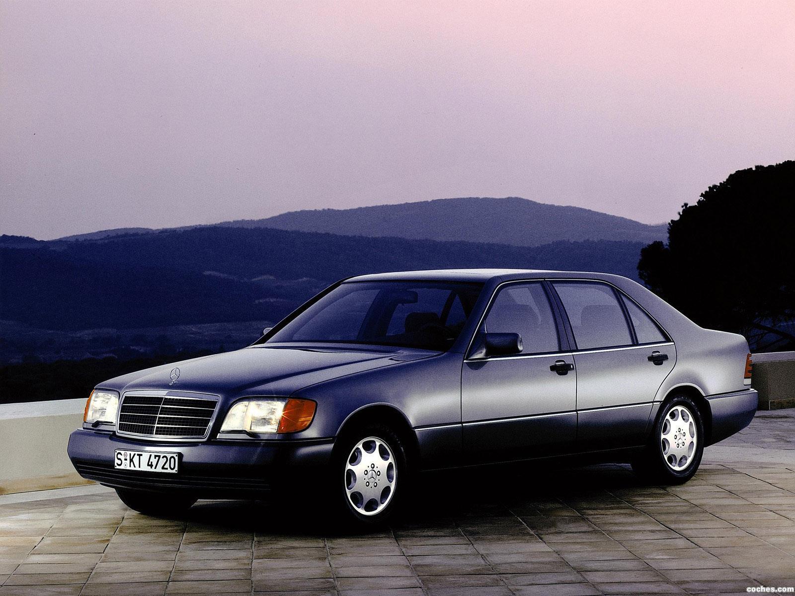 Foto 0 de Mercedes S-Klasse 500SEL W140 1991