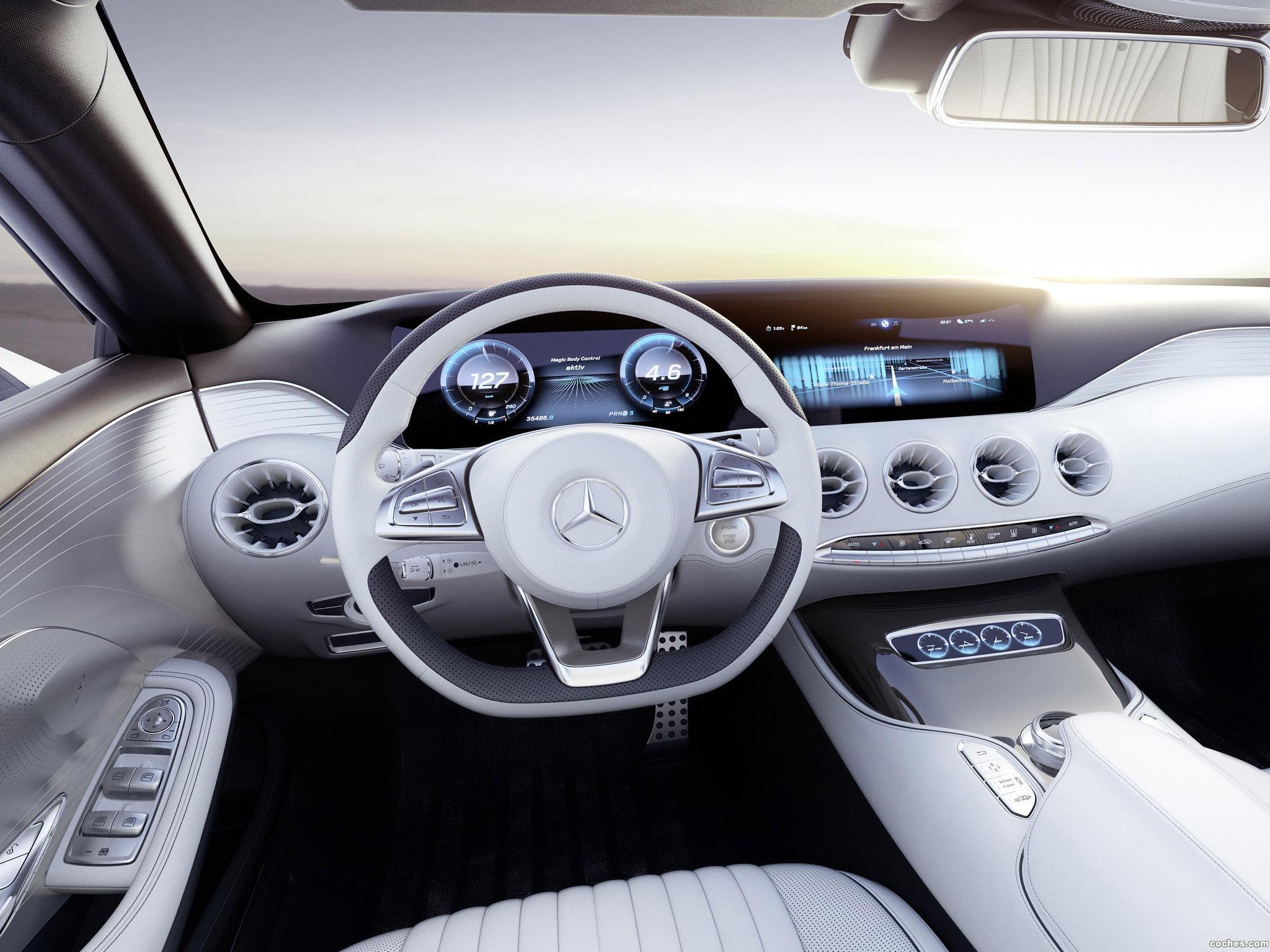 Foto 18 de Mercedes Clase S Coupe Concept 2013