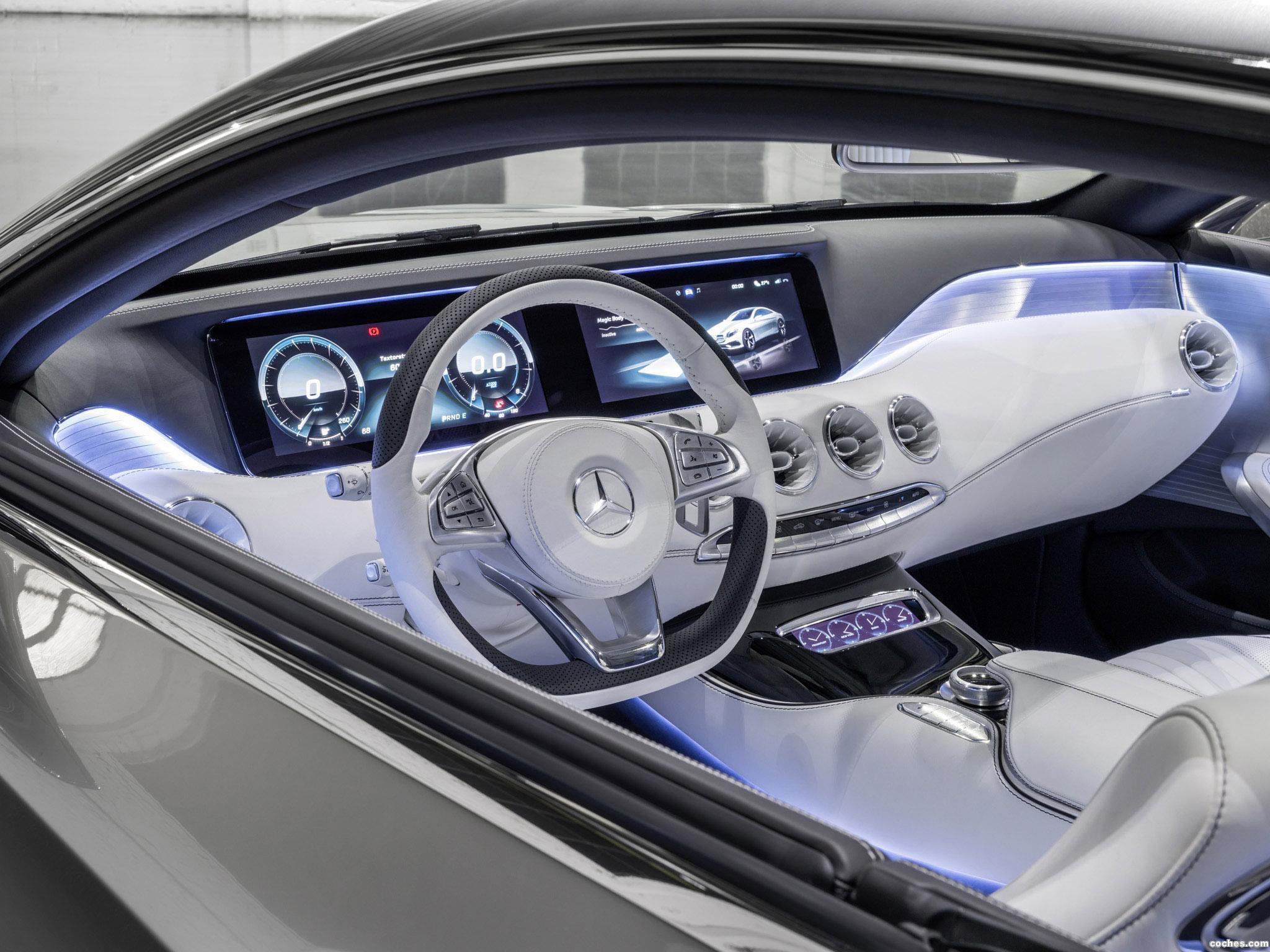 Foto 17 de Mercedes Clase S Coupe Concept 2013