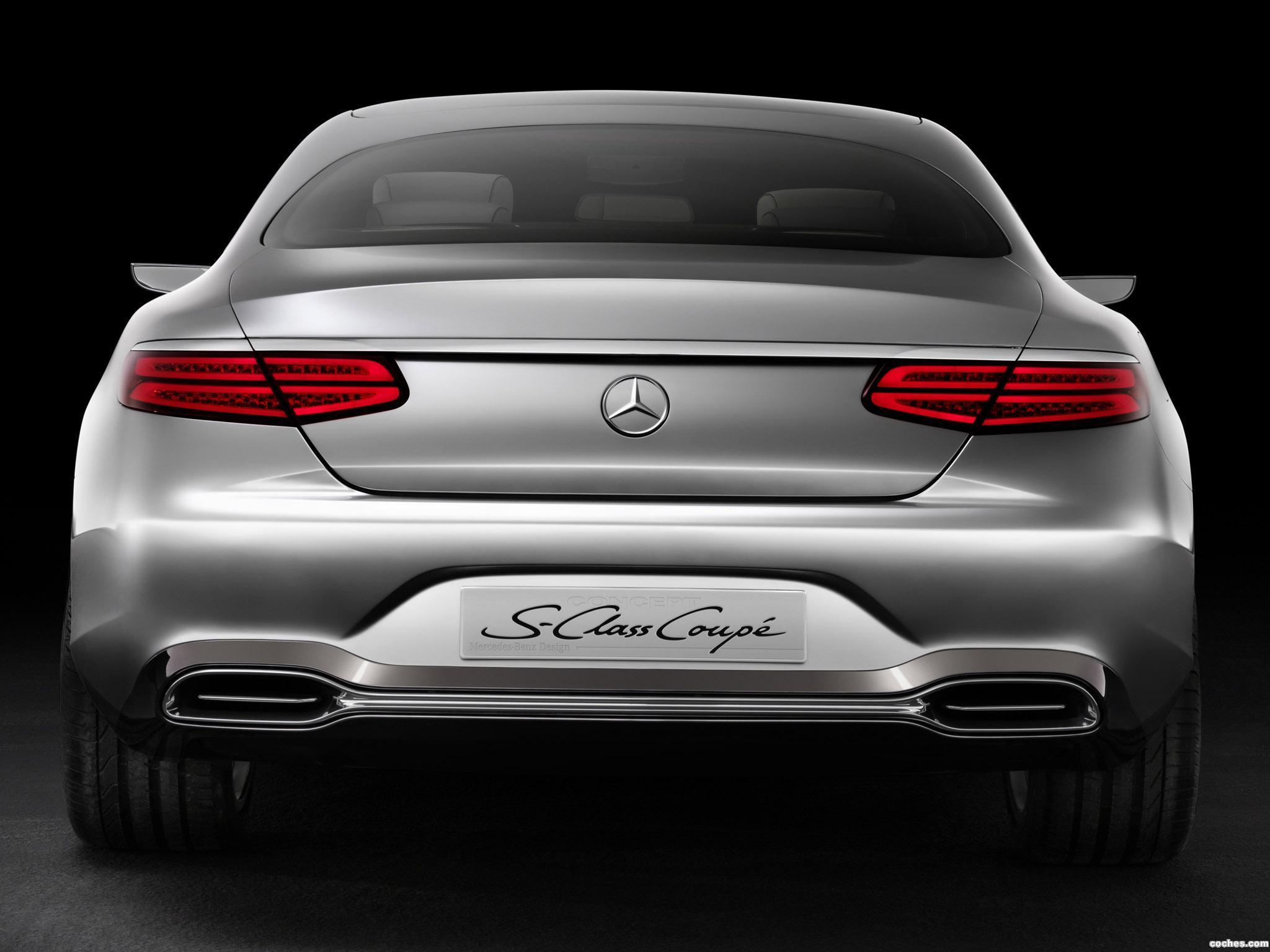 Foto 11 de Mercedes Clase S Coupe Concept 2013