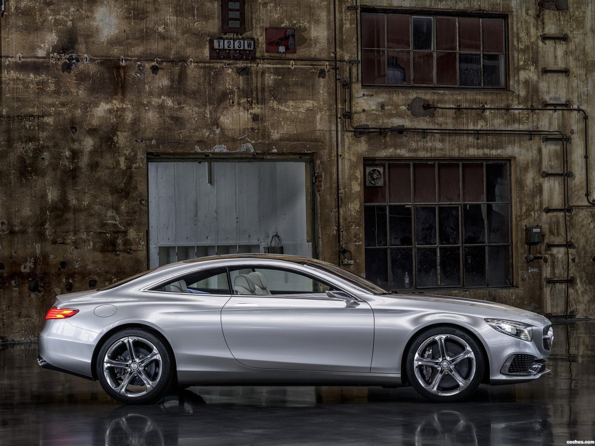 Foto 10 de Mercedes Clase S Coupe Concept 2013