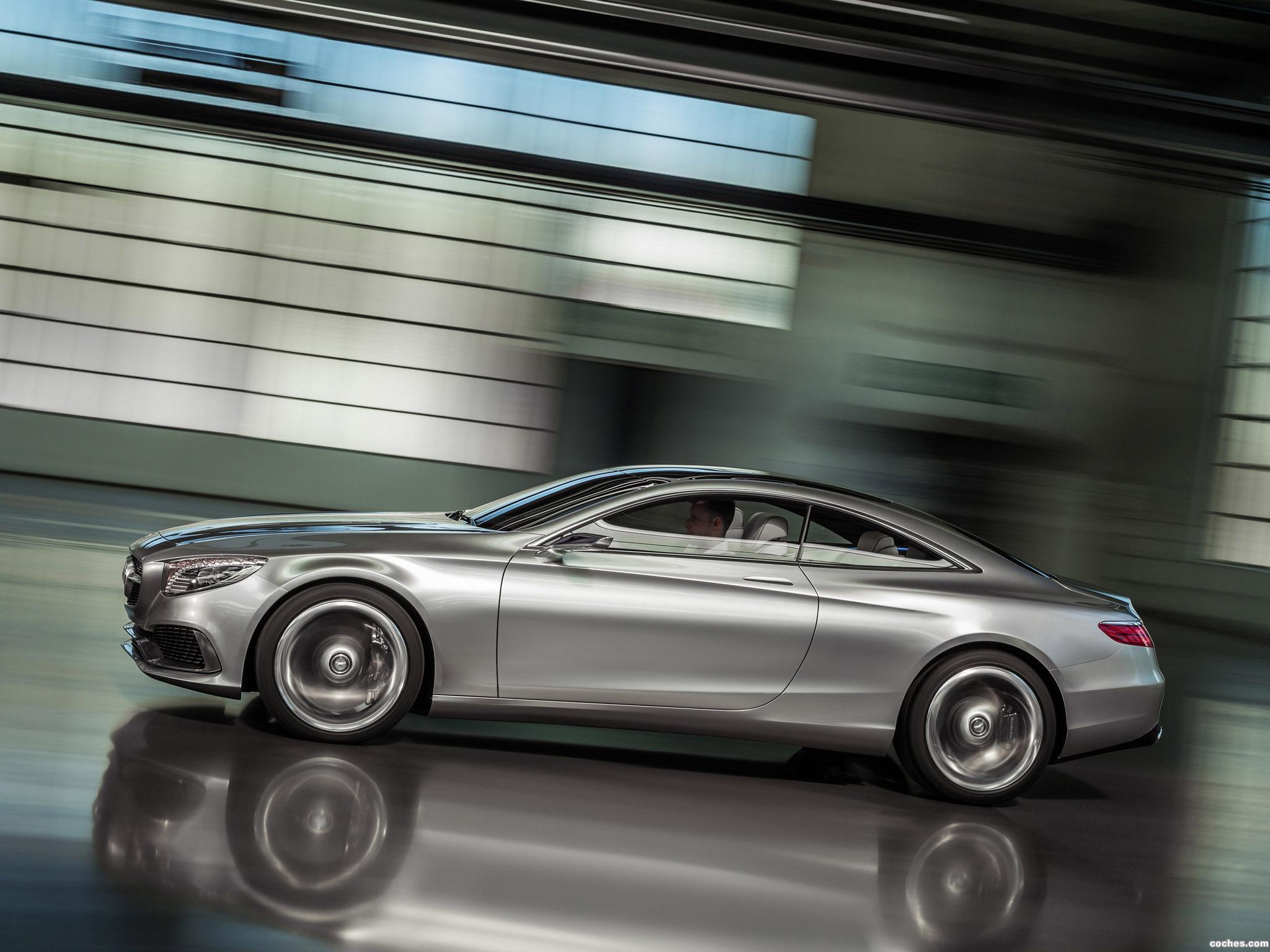 Foto 8 de Mercedes Clase S Coupe Concept 2013