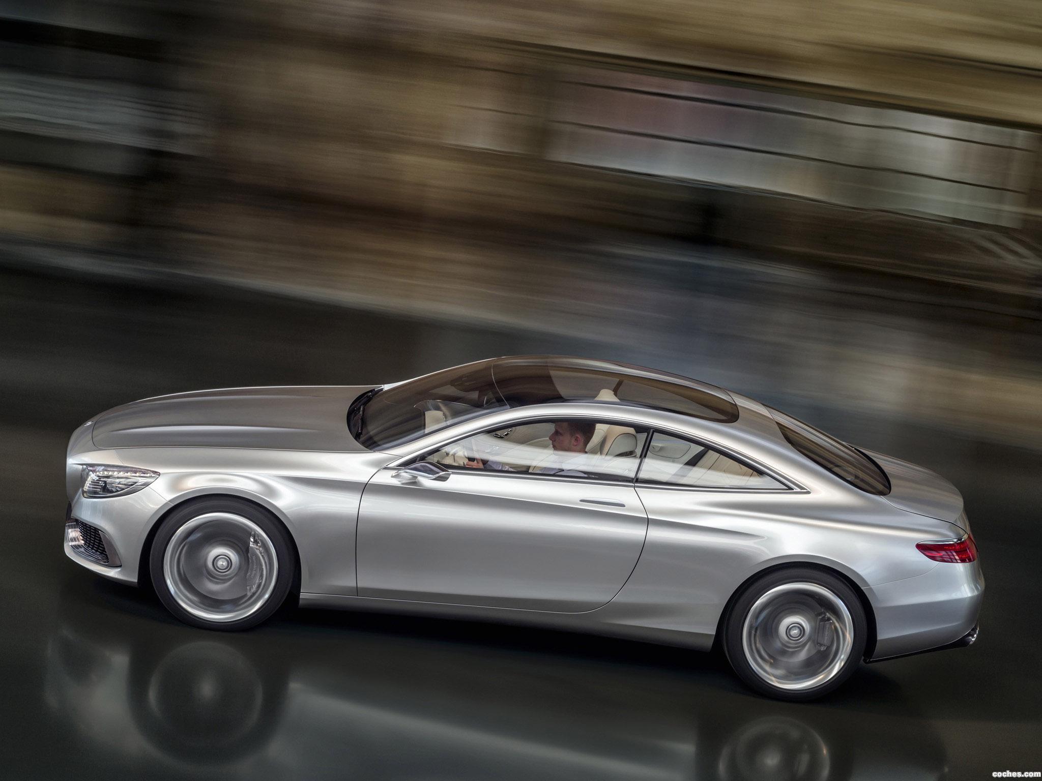 Foto 5 de Mercedes Clase S Coupe Concept 2013