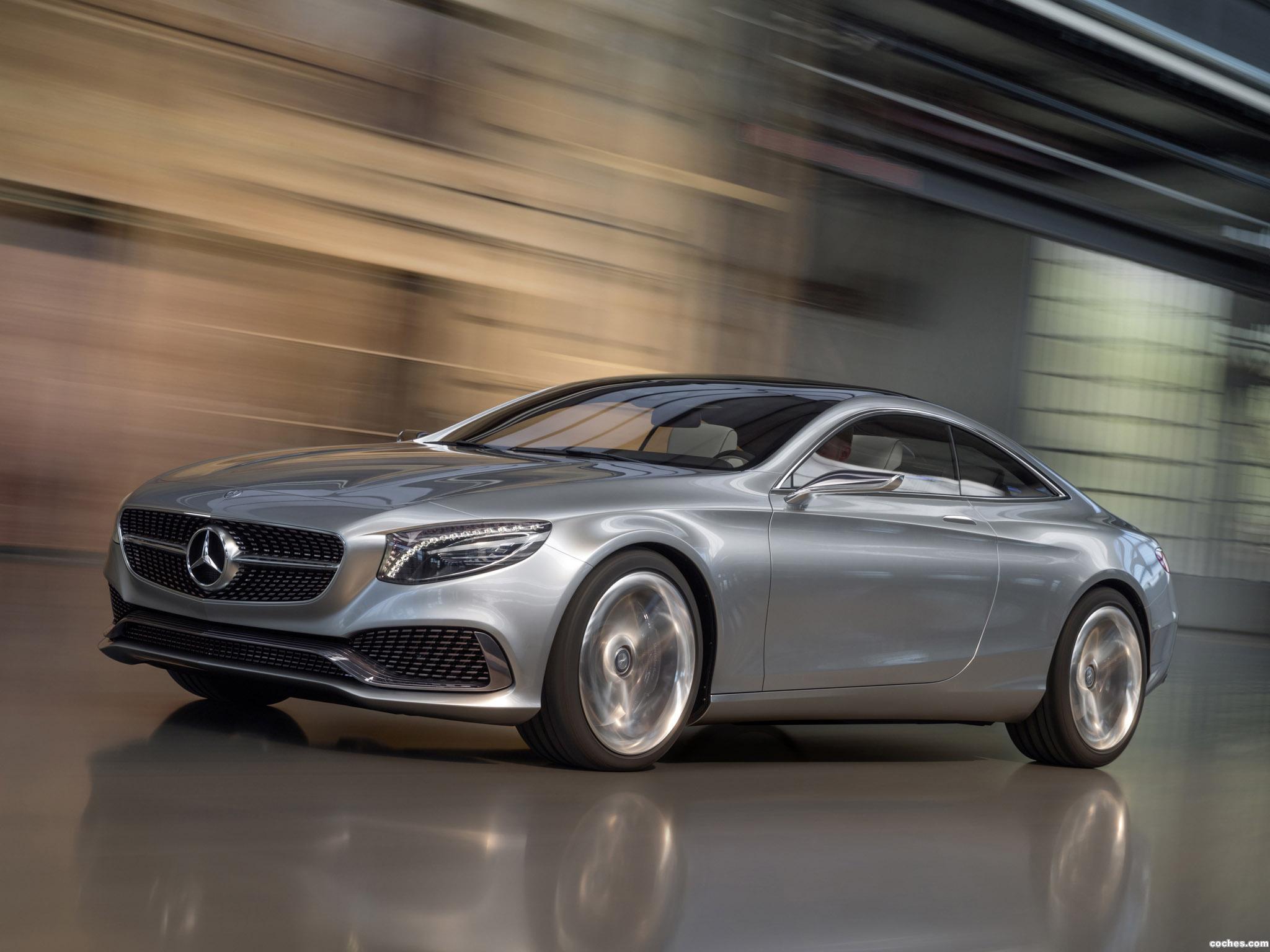 Foto 3 de Mercedes Clase S Coupe Concept 2013