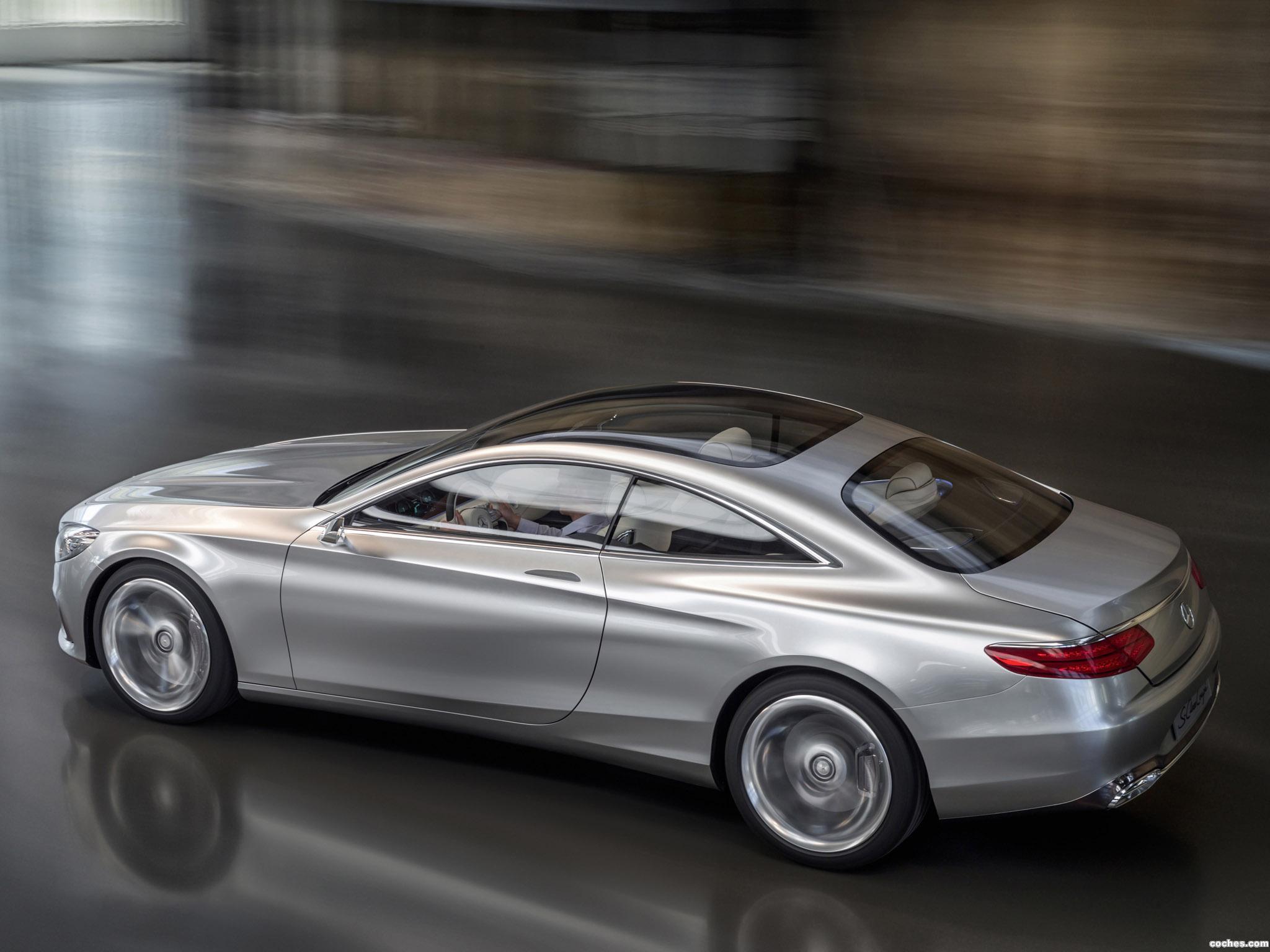 Foto 2 de Mercedes Clase S Coupe Concept 2013