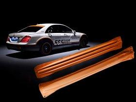 Ver foto 2 de Mercedes Clase S ESF Experimental- Safety Vehicle 2009